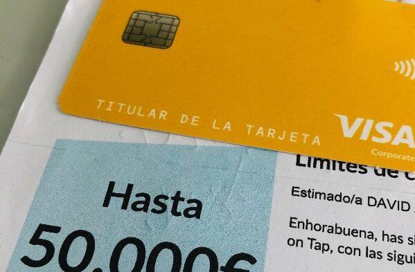 intereses de tarjeta capital on tap